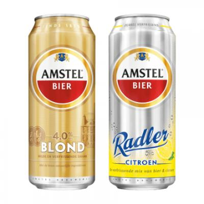 Keuze uit: Radler, alcohol: 2.0% Vol Blond, alcohol: 4.0% Vol 0,5 l